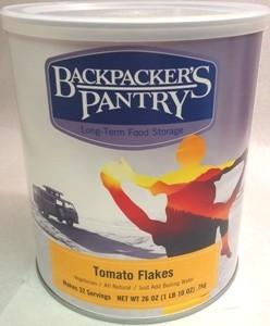 Backpacker's Pantry Tomato Flakes, Can