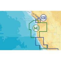 Navionics Platinum Plus Oregon & California - SD/Micro SD