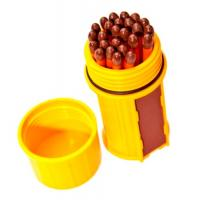UCO Match Container w/25 Matches - Yellow