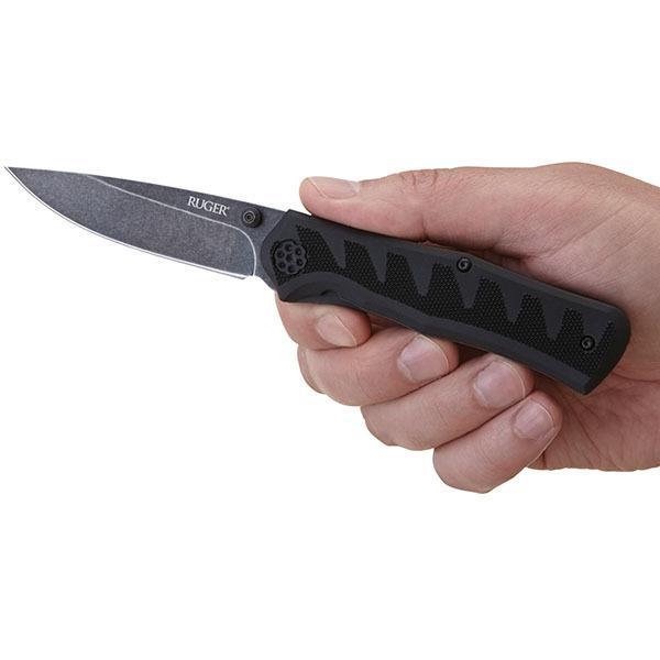 Ruger by CRKT R1201K Crack Shot Compact Assisted Opening Pocket Knife