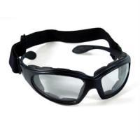 Bobster Action Eyewear GX Sunglasses, Black Frame, Clear Anti-Fog Lens