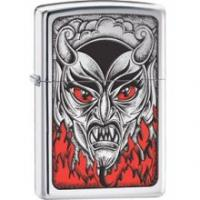 Zippo BS FIRE DOWN BELOW,  HP Chrome