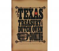 Lodge Cookbook ( Dutch Oven ) Texas Treasury Cooking