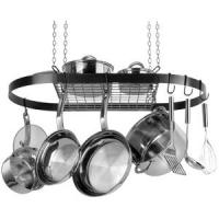 Oval Pot Rack (black)