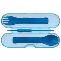 Gobites Trio Blue Camping Utensils