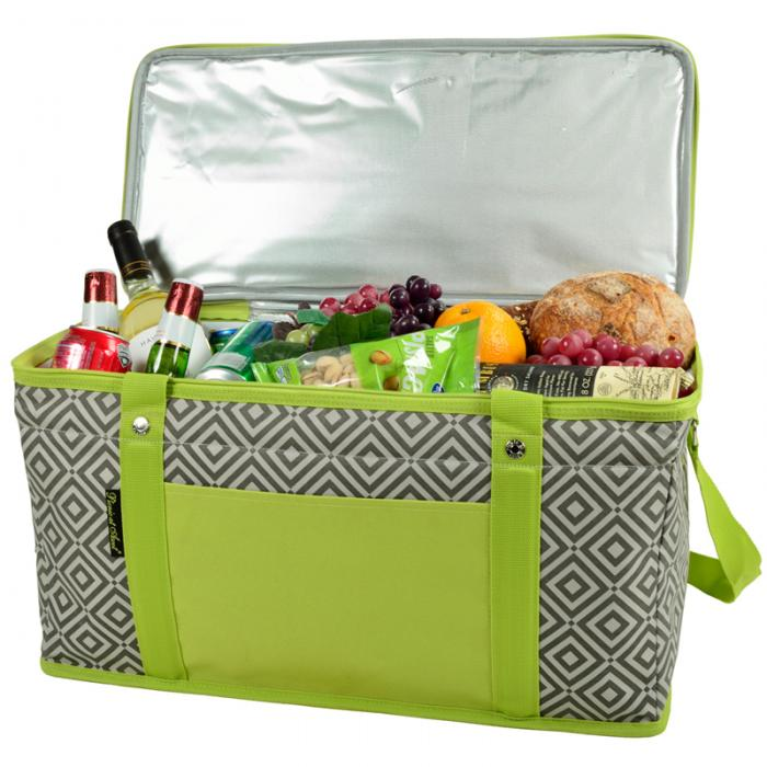 Picnic at Ascot 72 Can Large Folding Collapsible Cooler -  Diamond Granite