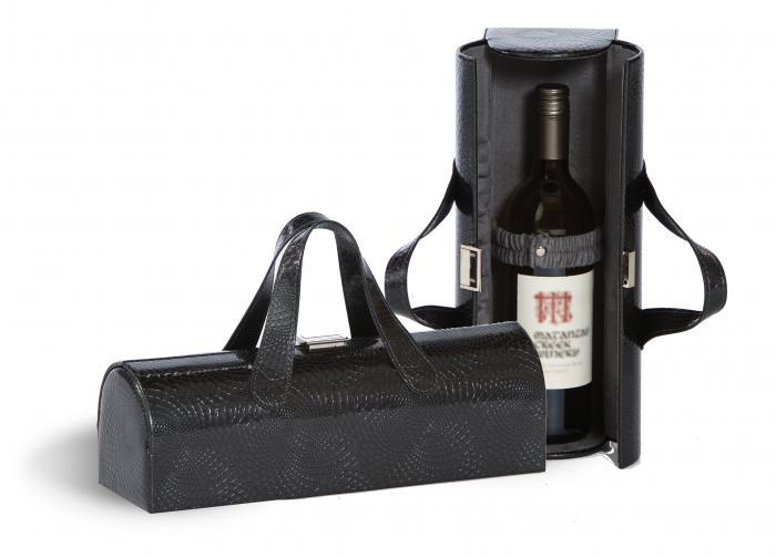 Picnic Plus Carlotta Clutch Wine Bottle Clutch - Grey Swirl