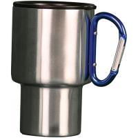 Aloe Gator Carabiner Travel Mug-blue 15oz
