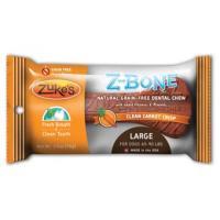 Zukes Z-bone Dental Bone - Carrot, Lg