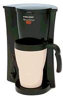 Black & Decker Brew 'N Go Personal Coffeemaker with Travel Mug
