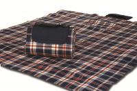 "Mega Mat Folded Picnic Blanket with Shoulder Strap - 68"" x 82"" (Nautical Navy)"