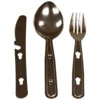Red Rock Gear Chow Set, Stainless Steel, 3 Piece Set