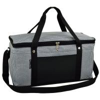 Picnic at Ascot 72 Can Large Folding Collapsible Cooler - Houndstooth