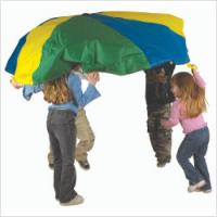 Pacific Play Tents 30 Ft. Parachute with No Handles includes Carry Bag