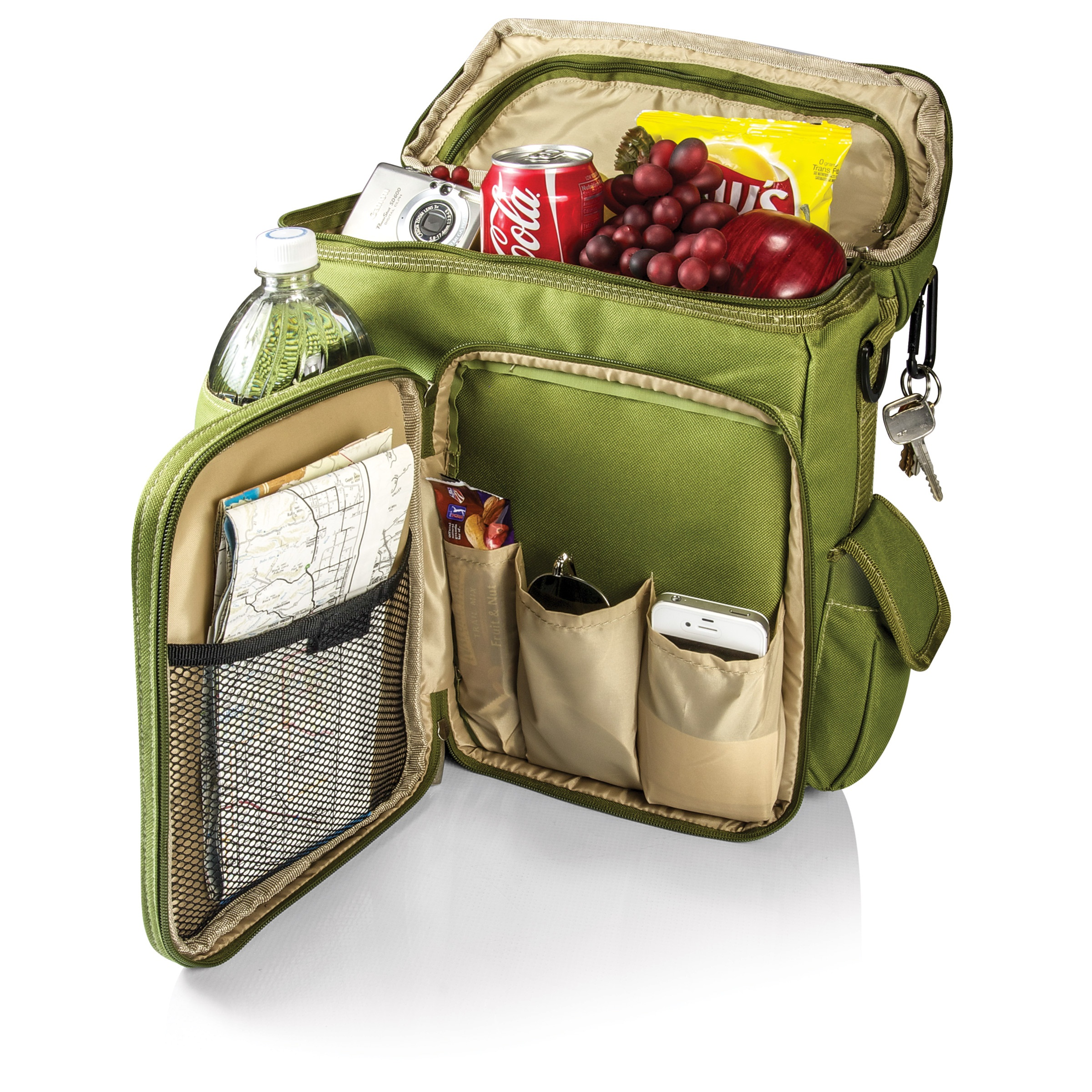 Picnic Time Turismo Backpack Olive