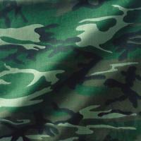Bandannas Bandanna, 100% Cotton, Woodland Camouflage, Premium, 22 x 22