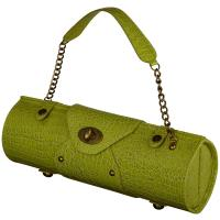 Picnic at Ascot Wine Carrier & Purse, Kiwi