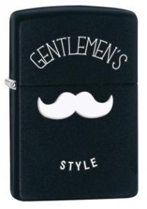 Zippo Gentlemen's Style Black Matte Zippo