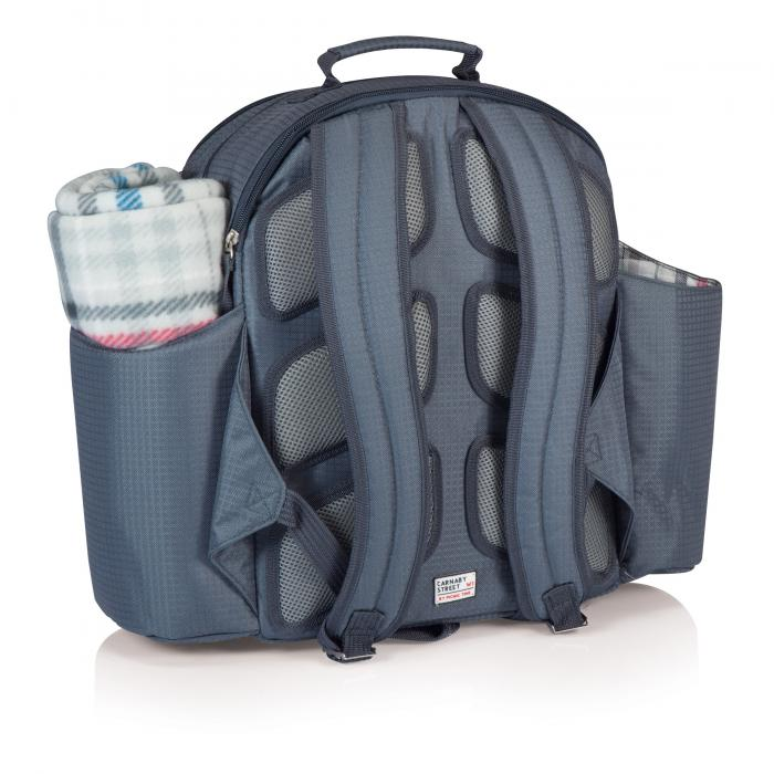 Picnic Time Big Ben Picnic Backpack for 4, Carnaby Street
