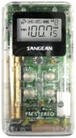 Sangean DT-120 WHITE Pocket Am/fm Digital Radio (White)