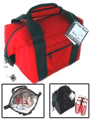 Polar Bear Red 6 Pack Soft Sided Cooler
