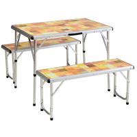 Table Packaway Picnic Set Mosaic