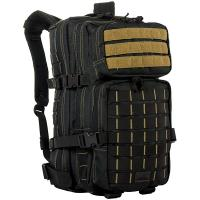 Red Rock Gear Rebel Assault Pack, Black w/Coyote Stitching