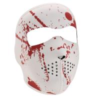 ZANheadgear Neoprene Full Mask - Blood Splatter