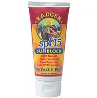 Badger SPF30 Sunblock, Face & Body