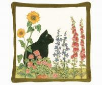 Alice's Cottage Black Cat Spiced Hot Pad