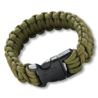 Columbia River (CRKT) Onion Para-Saw Bracelet, Small, OD Green