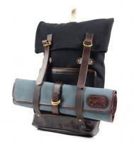 Boldric Canvas DD Backpack, Black