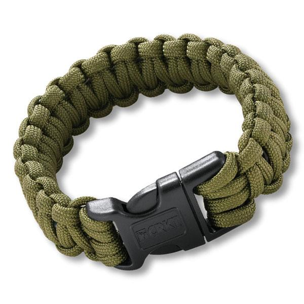 Columbia River (CRKT) Onion Para-Saw Bracelet, Small, OD Green