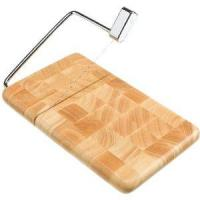 Prodyne Butcher Block Cheese Slicer End Grain - Beechwood