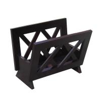 Ocean Star Design Contemporary Mahogany Solid Wood Magazine Rack M1125
