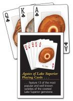 Adventure Publications Agates of Lake Superior Playing Cards