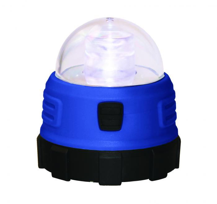 Texsport Mini Dome LED Light with Magnet, Blue