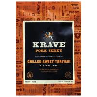 Krave 1.5 Oz Teriyaki Pork