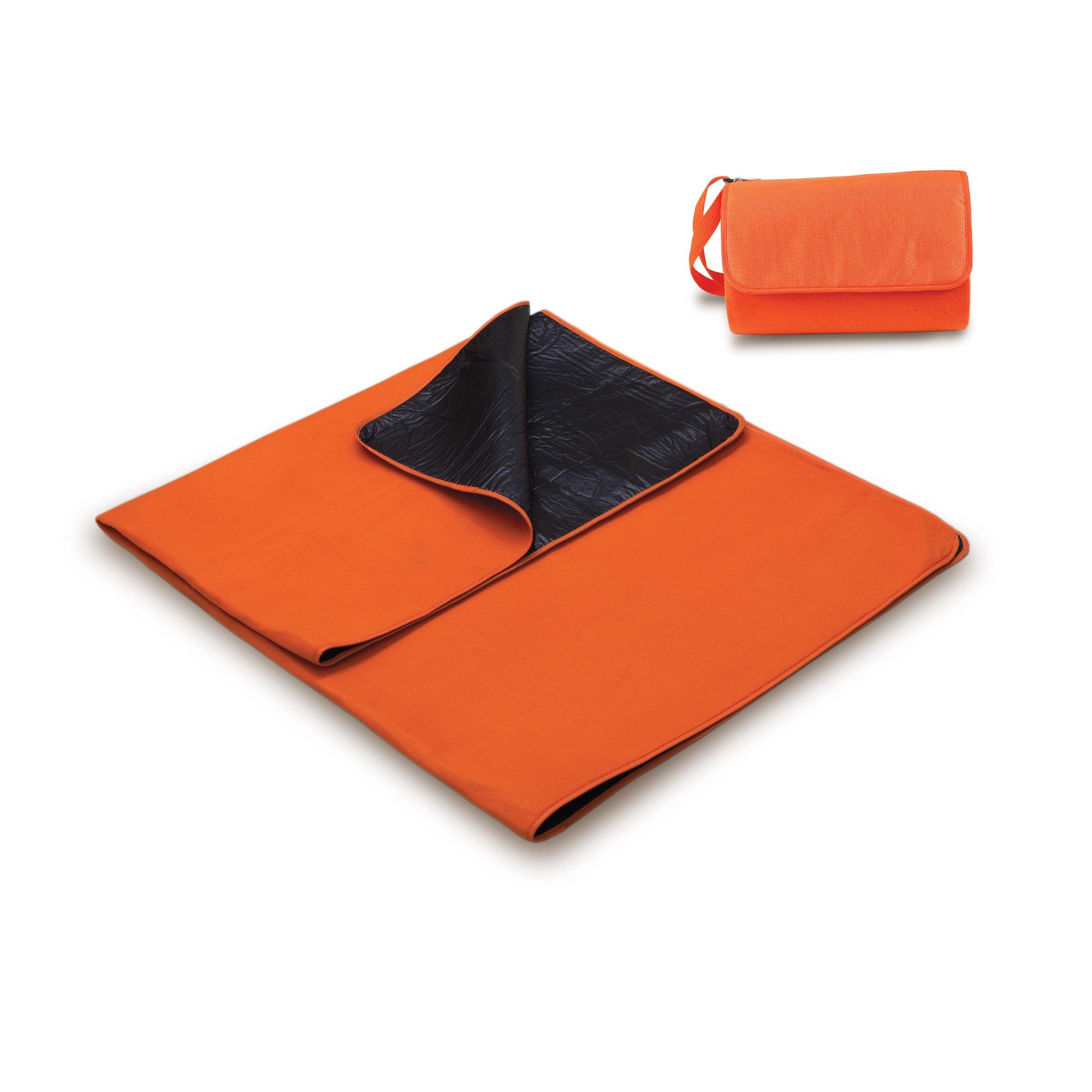 time blanket tote  orange - picnic time blanket tote  orange