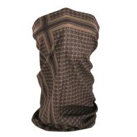 ZANheadgear Fleece Lined Motley Tube -Coyote Tan Houndstooth