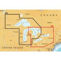 Navionics Platinum Plus 900PP - West Great Lakes - CF Card