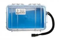 Pelican Products 1040 Micro Case Clear Blue