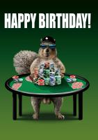 Tree Free Greetings Call Me Nuts Birthday