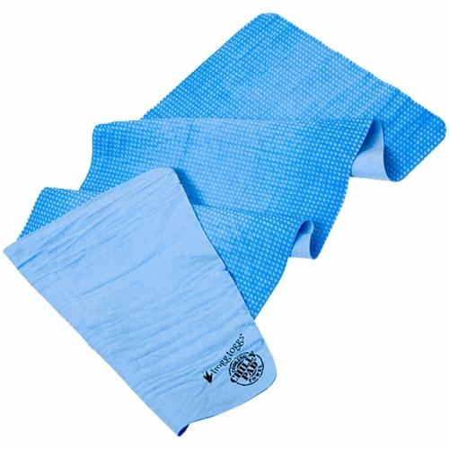 Frogg Toggs Chilly Pad Toadlly Cool Cooling Towel w/Sport case Sky Blue