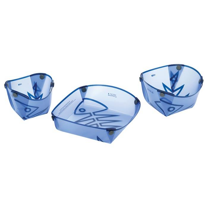 Fozzils Solo Tableware Pack, Blue
