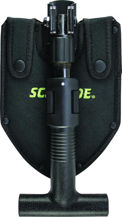 Schrade SCHSH1 Telescoping Folding Shovel