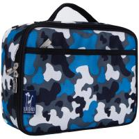 Olive Kids Blue Camo Lunch Box