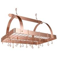 Old Dutch Satin Copper 30-by-20-Inch Rectangular Pot Rack