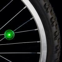 Nite-ize See 'Em LED Spoke Light, Green, 2 Pack