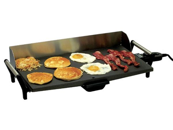 BroilKing Professional Non-Stick Griddle with Backsplash Guard